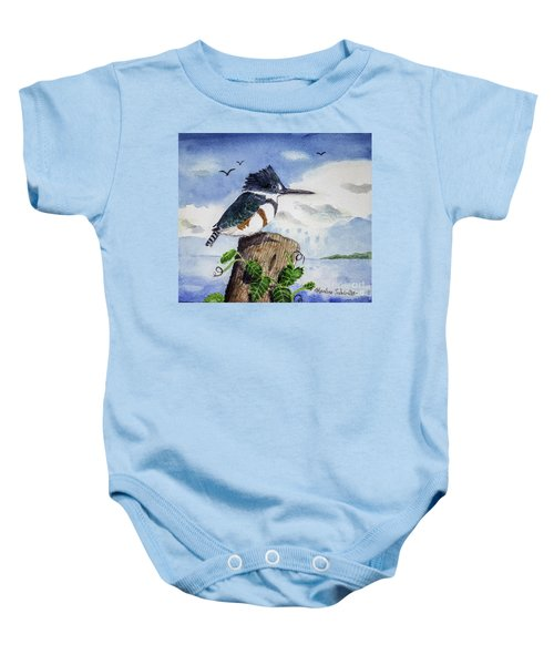 The Fisher Queen  Baby Onesie