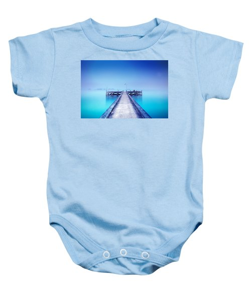 The Foggy Morning Baby Onesie