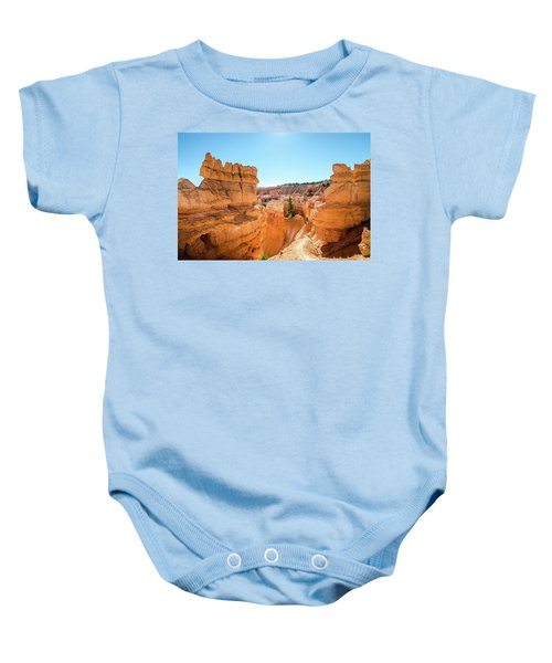 The Glowing Canyon Baby Onesie
