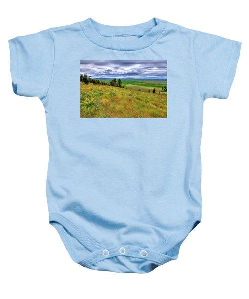The Grasses Of Kamiak Butte Baby Onesie
