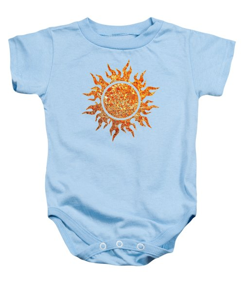 The Great Ball Of Fire Baby Onesie