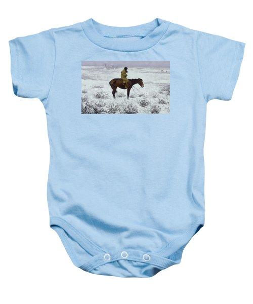 The Herd Boy Baby Onesie