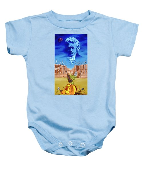 The Last Soldier An Ode To Beethoven Baby Onesie