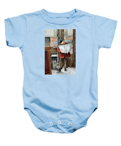 The Latest News Baby Onesie