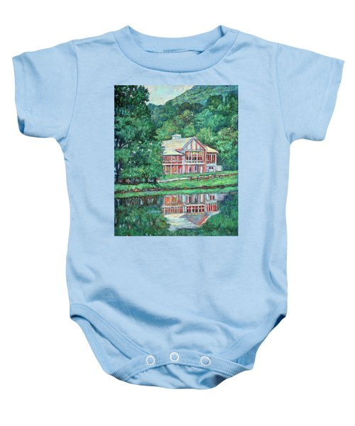 The Lodge At Peaks Of Otter Baby Onesie