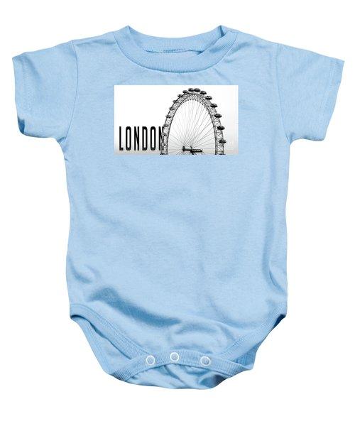 The London Eye Baby Onesie