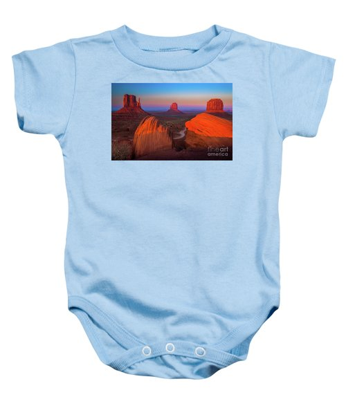 The Mittens Baby Onesie