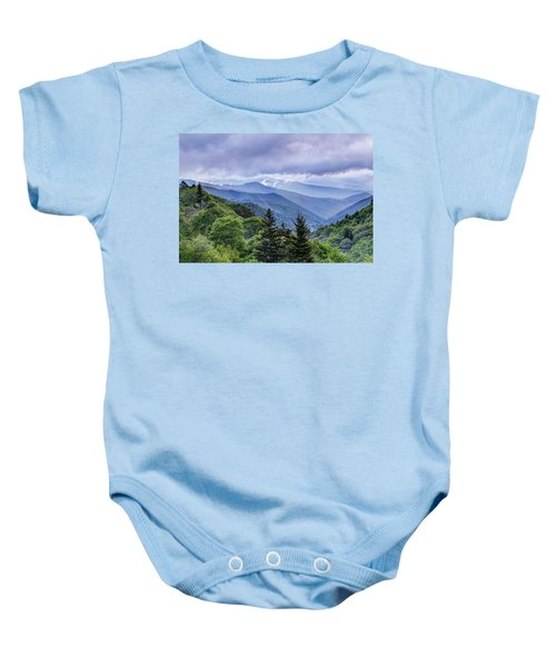 The Mountains Of Great Smoky Mountains National Park Baby Onesie