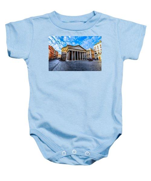The Pantheon Rome Baby Onesie