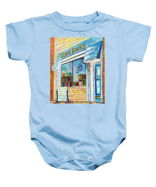 The Paperbacks Plus Book Store St Paul Minnesota Baby Onesie
