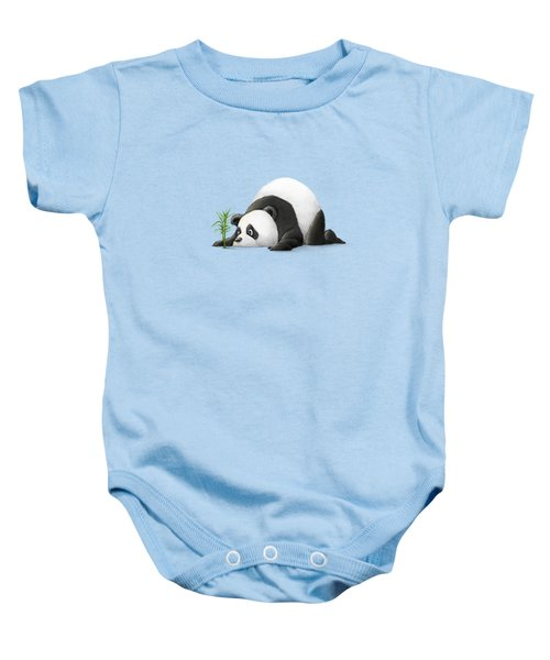 The Patient Panda Baby Onesie