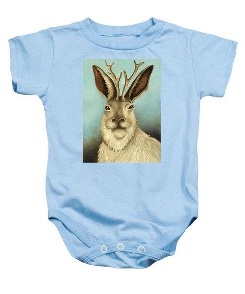 The Real Jackalope Baby Onesie