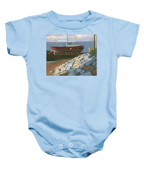 The Red Troller Revisited Baby Onesie