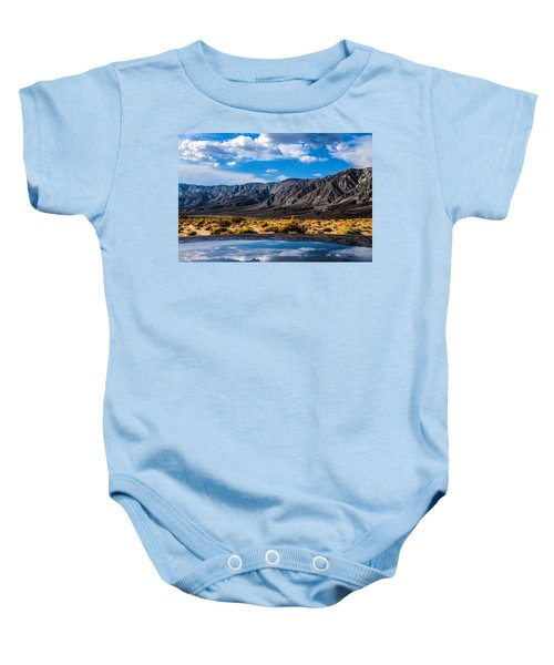 The Reflection On The Roof Baby Onesie