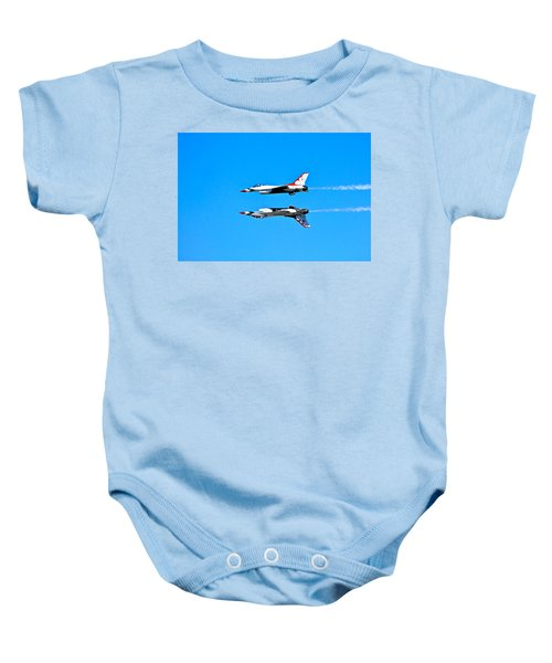 The Reflection Pass Baby Onesie