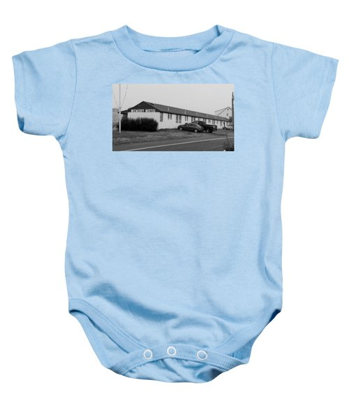The Rolling Stones' Memory Motel Montauk New York Baby Onesie