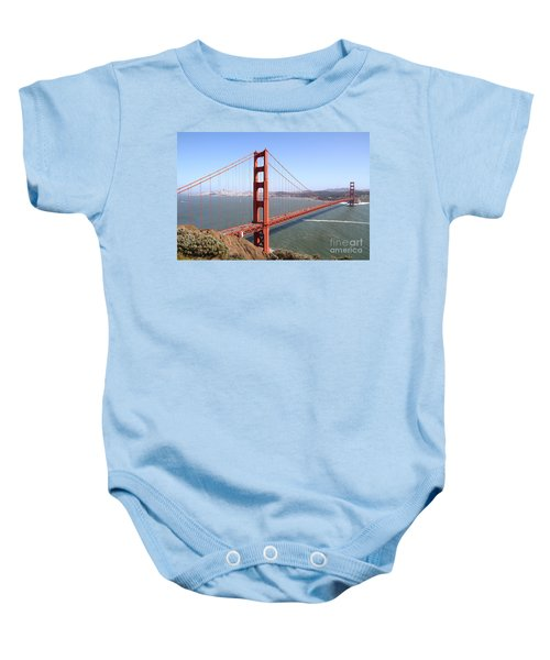 The San Francisco Golden Gate Bridge 7d14507 Baby Onesie