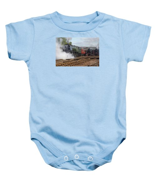The Steam Railway Baby Onesie