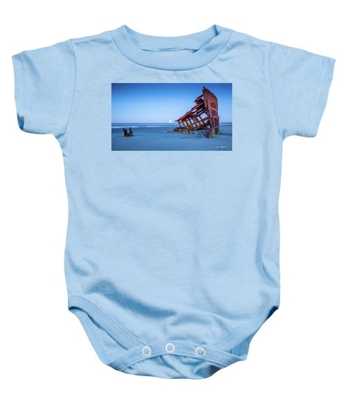 The Wreck Of The Peter Iredale Baby Onesie