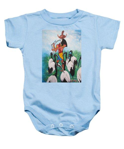 Blaa Kattproduksjoner         Thoth - What's With The Sombrero Baby Onesie