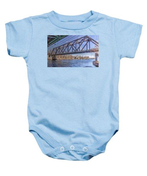 Three Rivers Trestle Baby Onesie