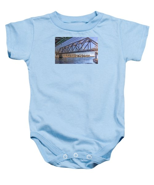 Three Rivers Trestle Baby Onesie