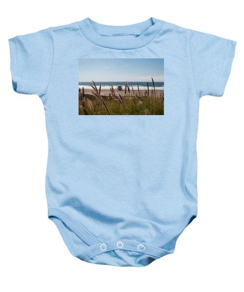 Through The Reeds Baby Onesie