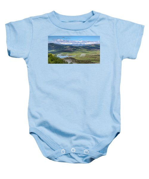 Timbers View  Baby Onesie