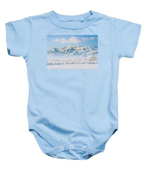 Timp In Winter Baby Onesie