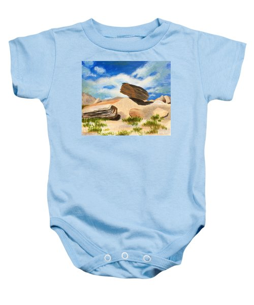 Toadstool Park Nebraska Baby Onesie