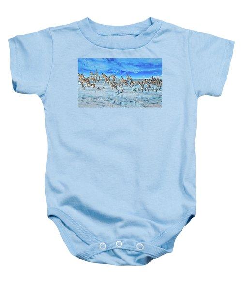 Topsail Skimmers Baby Onesie