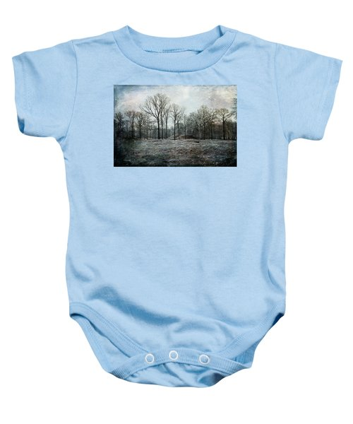 Total Absence Baby Onesie