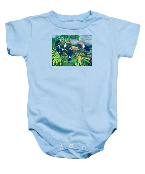 Toucan Talk Baby Onesie