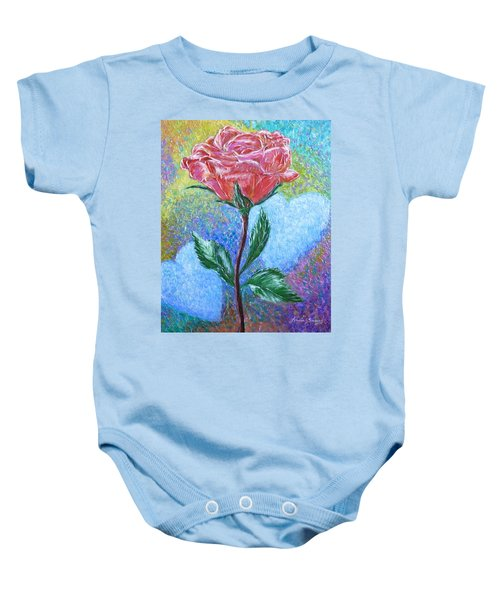 Touched By A Rose Baby Onesie