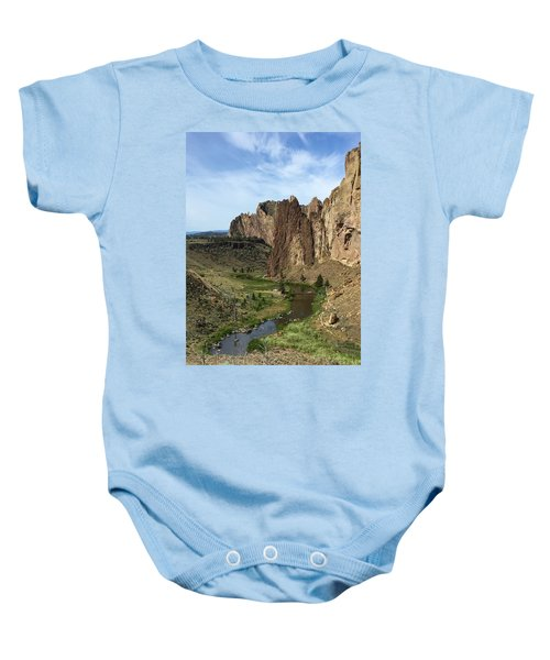 Towering Smith Rocks Baby Onesie