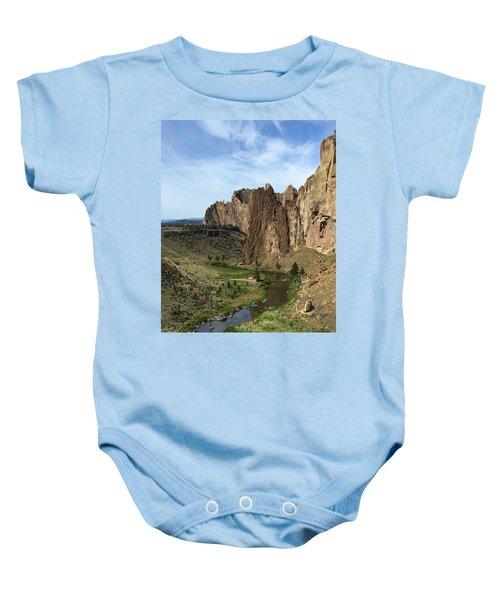 Towering Smith Rocks Baby Onesie