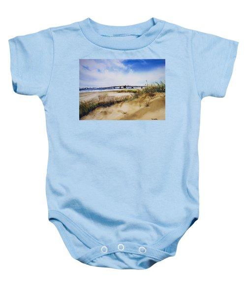 Townsends Inlet Baby Onesie