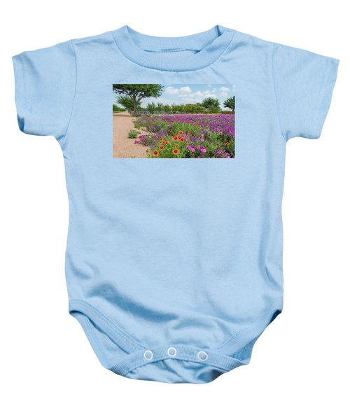 Trailing Beauty Baby Onesie