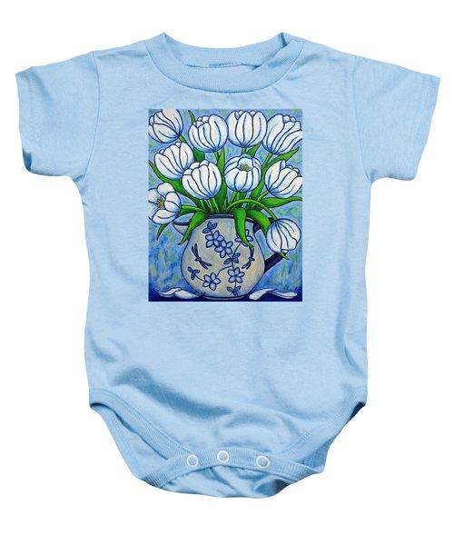 Tulip Tranquility Baby Onesie