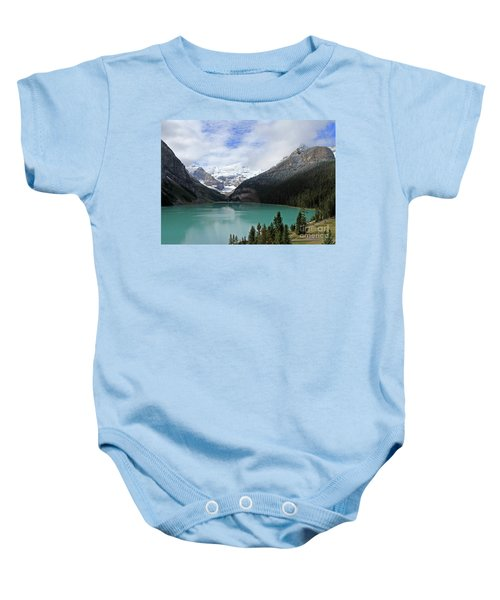Turquoise Lake Baby Onesie