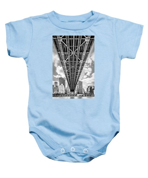 Underneath The Queensboro Bridge Baby Onesie
