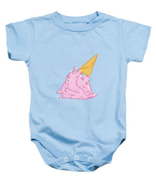 Unicorn Melts Baby Onesie