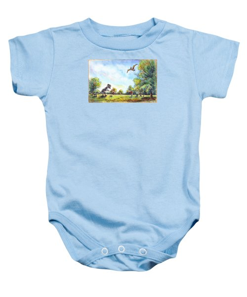 Uninvited Picnic Guests Baby Onesie