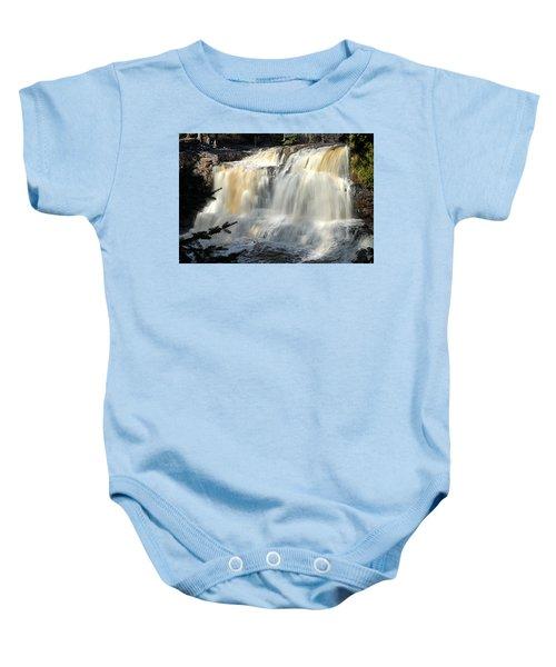 Upper Falls Gooseberry River Baby Onesie
