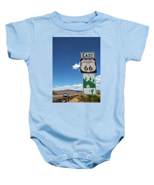 Us Route 66 Sign Arizona Baby Onesie