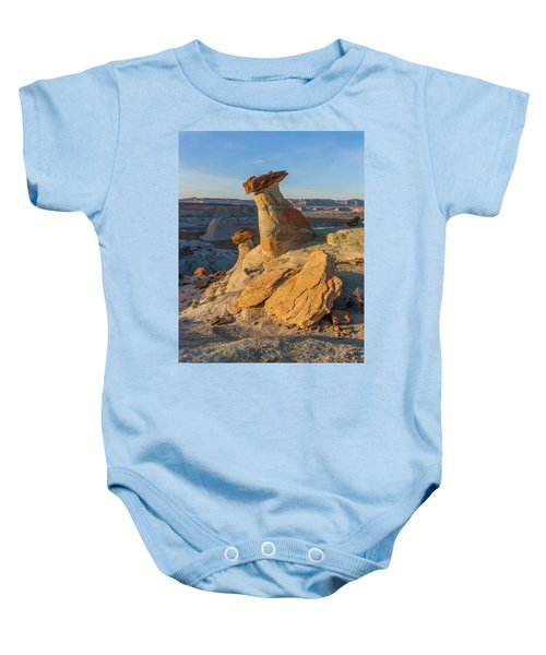 Utah Hoodoos At Sunset Baby Onesie