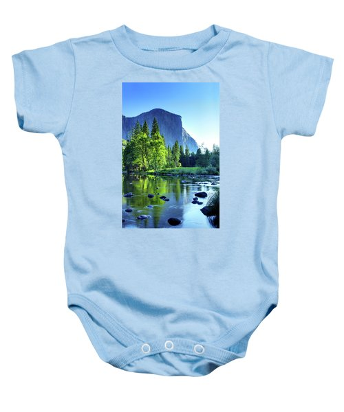 Valley View Morning Baby Onesie