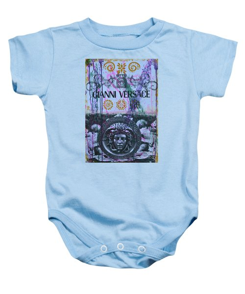Versace Logo 2 Baby Onesie