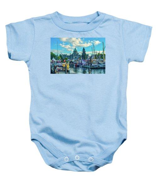 Victoria Harbor Boat Festival Baby Onesie