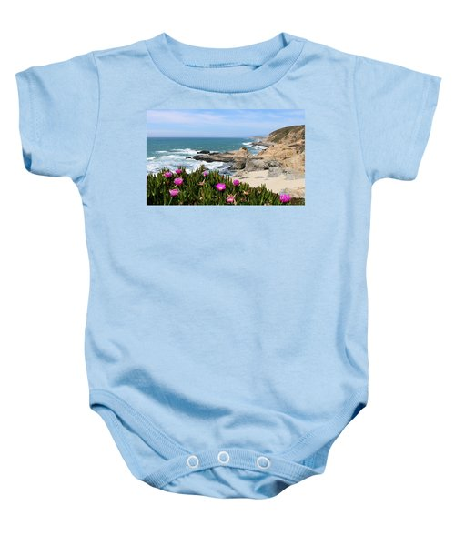 View From Bodega Head In Bodega Bay Ca - 3 Baby Onesie